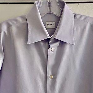 Armani Collezioni Men's shirt 16-33 Pima cotton